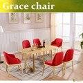 U-BEST высокое качество Poliform Благодати Председатель европейского кафе стул дизайнерские стулья Запад Nordic имитация дерева стул