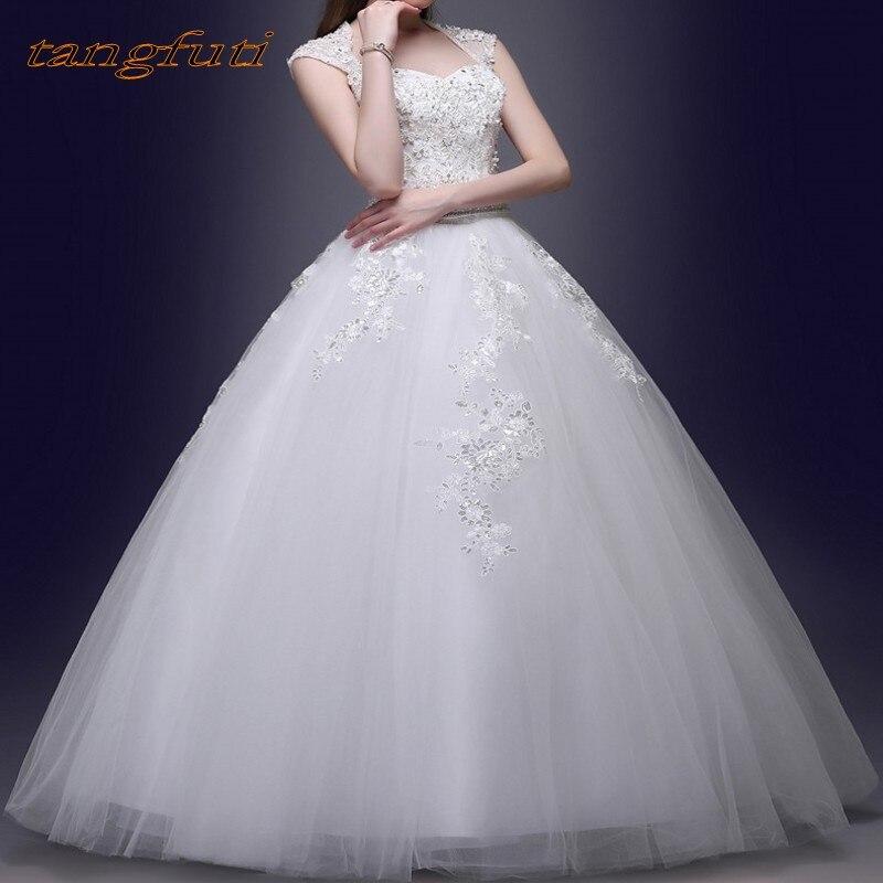Robes de mariée en dentelle Vintage 2018 a-ligne robes de mariée en Tulle robes de mariée de mariée robes de mariage robe de mariée vestido de noiva