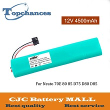 High Quality Newest 12V 4500mAh NI-MH Replacement Battery For Neato Botvac 70e 75 80 85 D75 D8 D85 Vacuum Cleaner battery цена в Москве и Питере