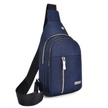 Litthing Men Crossbody Chest Bags USB Charging Plug  Leather Messenger Shoulder Diagonal Package 2019 Travel