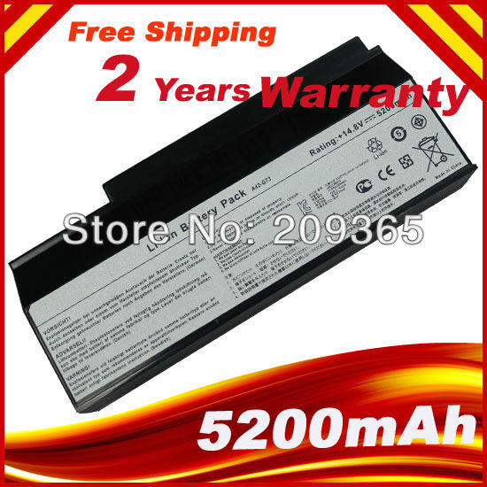 Laptop battery for Asus 8 Cell Battery For ASUS G53 G53JW G53Sw G53Sx G73 G73Jh G73Jw VX7 A42-G73Laptop battery for Asus 8 Cell Battery For ASUS G53 G53JW G53Sw G53Sx G73 G73Jh G73Jw VX7 A42-G73