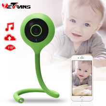 Wetrans IP Camera Wi-fi Baby Monitor Mini Wifi Camera Nanny Care 720P HD Cloud Storage Wireless CCTV Camera Baby Cry Alarm
