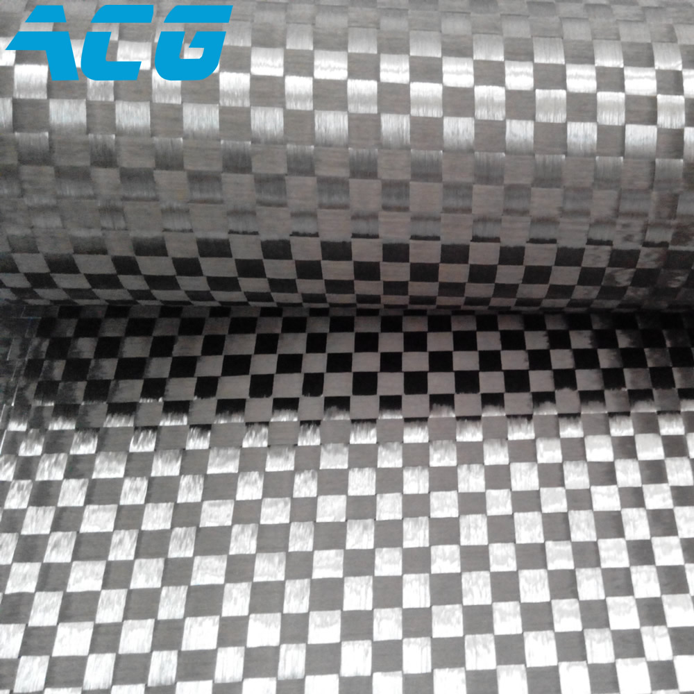 12K Spread Tow carbon fiber fabric 200GSM high quanlity 10m lot 8mm grid super thin