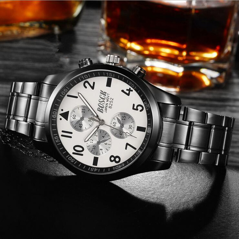 mens fashion quartz watch is elegant and simple leisure business watch.mens fashion quartz watch is elegant and simple leisure business watch.
