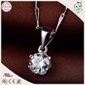 Trendy Simple Design 925 Solid Silver Small Pendant For Ladies