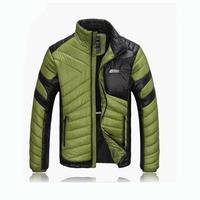 20163 NEW Đứng Cổ Áo lông cừu quần áo thời trang người đàn ông áo, mùa đông thiết kế mỏng kiểu áo khoác nam outcoat freeshipping