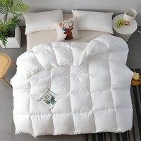 1.5~4kg Feather velvet quilt Warm comforter soft duvet Multiple size options blanket Comforter Filler Autumn and winter quilt
