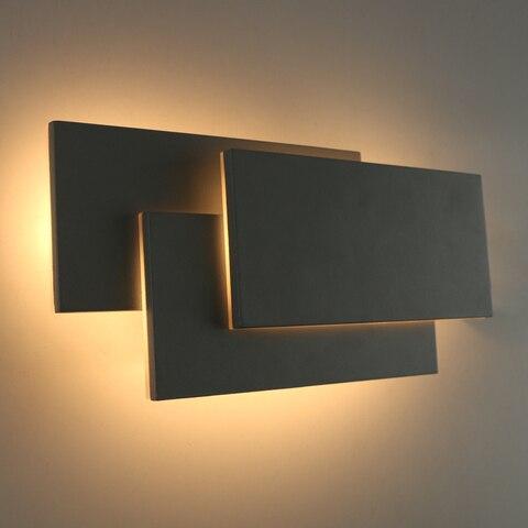 arandela quarto conduziu luz da parede