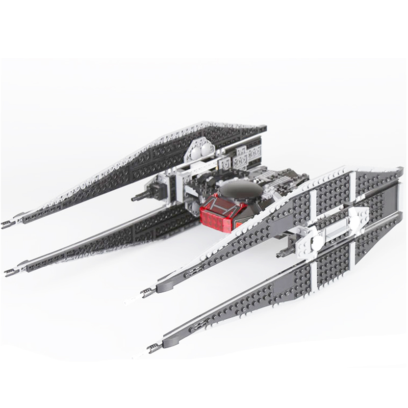 705Pcs Tie Model Fighter legoings 05127 Sets Model Building Blocks Bricks Educational Toys star wars Christmas Gifts 75179 military star wars spaceship aircraft carrier helicopter tank war diy building blocks sets educational kids toys gifts legolieds