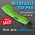 Diy 1.75mm abs/pla 3d pluma impresión led/lcd smart 3d pluma Smart Pen Pintura Mango Regalo Creativo Juguetes Para Niños de Dibujo diseño