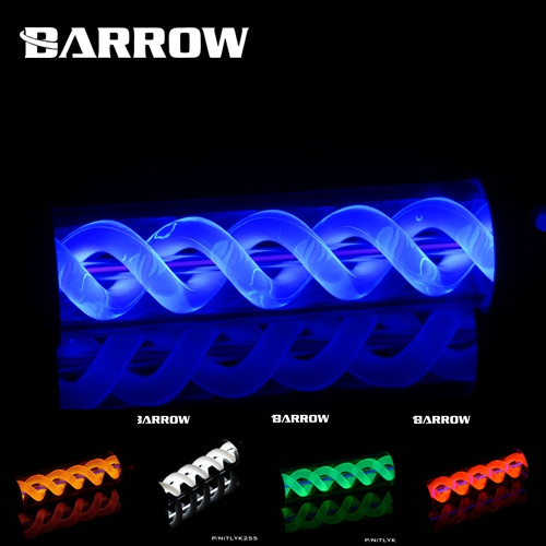 Barrow TLYK305 Multi colored Virus T Cylinder Water Reservoir , Water Cooling tank, come with UV/White lighting-in Fans & Cooling from Computer & Office    3