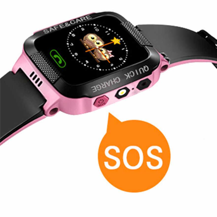 Gejian Smart Multifungsi Menonton Anak-anak Pergelangan Tangan Digital Watch Alarm Bayi Watch dengan Remote Pengawasan Hadiah Ulang Tahun untuk Anak-anak