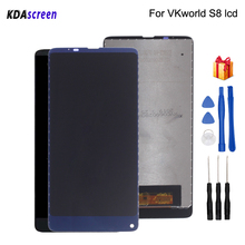 Original For VKworld S8 LCD Display Touch Screen Assembly Phone Parts For VKworld S8 Screen LCD Display Free Tools все цены