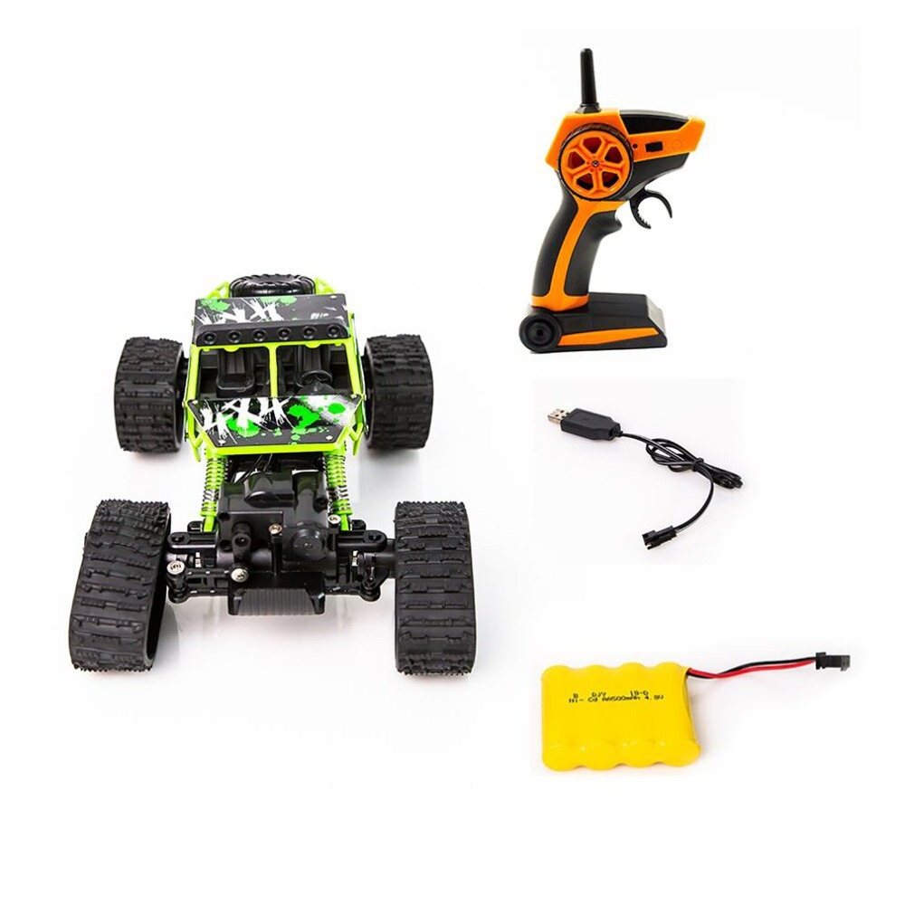 1 To 18 S-001 Electric Four-wheel Drive Snowmobile Wheel Model Crawlers Off Road Vehicle Toy Remote Control Car fz super climbing remote control car model off road vehicle toy four wheel drive