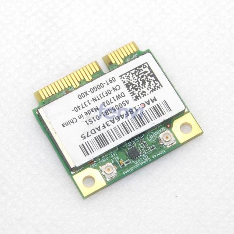 Dell XPS L421X Atheros WLAN Driver Windows 7