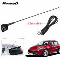 Voiture Auto toit Radio antenne FM/AM Signal Booster amplificateur antennes fouet mât pour Peugeot 106 205 206 306 307 309 405 406 806 807