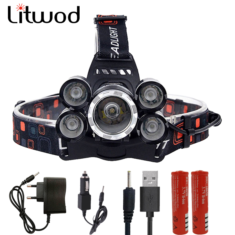 Z30 15000LM Head Lamp Flashlight Torch Led Headlamp Lantern XM-L T6 Headlight Lanterna Night Fishing Light With Battery Charger 3 t6 headlamp 3x xm l t6 led headlight 10000 lumens head lamp flashlight lampe frontale lanterna headlamp 90 degree night light