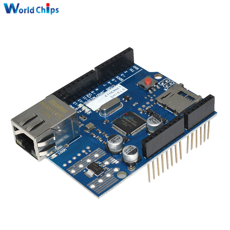 Lan Ethernet W5100 R3 Shield Module Micro-SD W5100 TCP/IP Network Development Board For Arduino UNO Duem Mega 2560 OneLan Ethernet W5100 R3 Shield Module Micro-SD W5100 TCP/IP Network Development Board For Arduino UNO Duem Mega 2560 One
