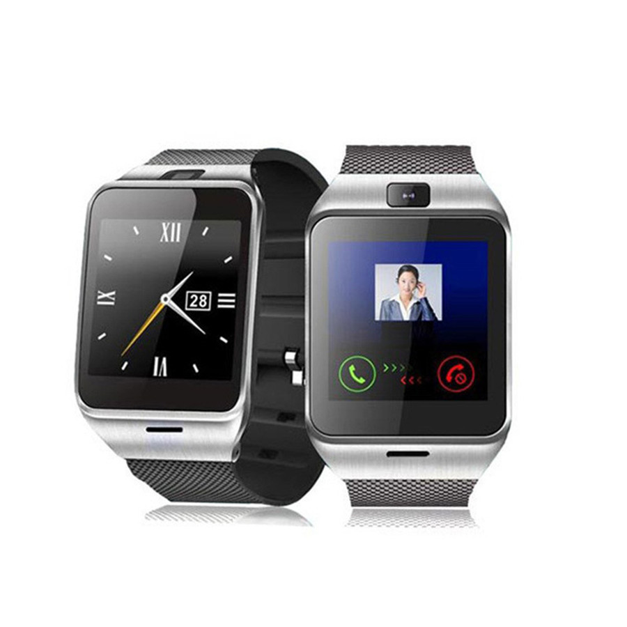 Camera Samsung Android Watch Phone online buy wholesale smartwatch samsung from china nfc aplus gv18 smart watch phone 1 55 gsm camera wrist sim card for