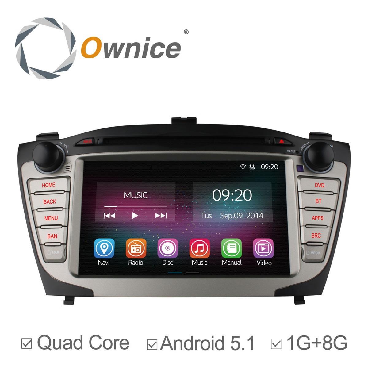 Ownice font b Android b font 5 1 Quad Core head unit 2015 Car radio for