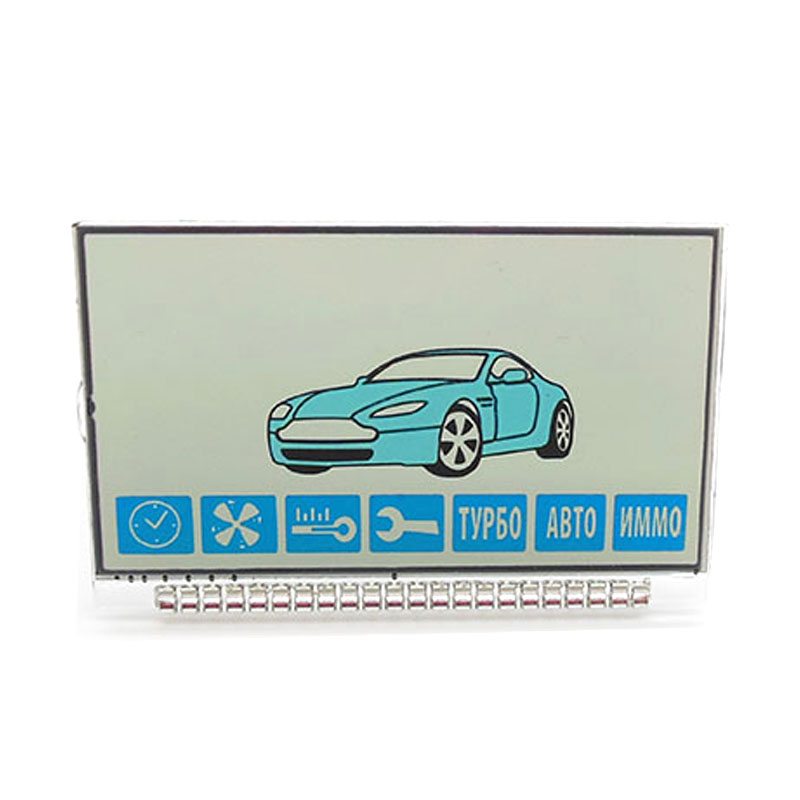 Russian Version A91 Lcd Display For Starline A91 Lcd Remote Two Way Car Alarm System