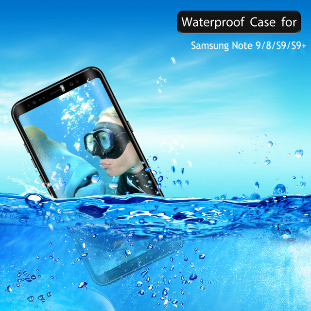 New Waterproof case For Samsung Note 9 Case Samsung S9Plus S8 Samsung Galaxy Note 8 9