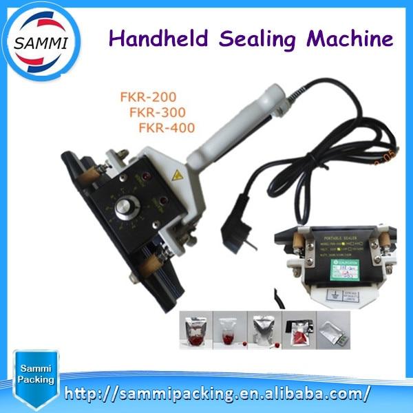 FKR-200 Handheld Sealing Machine,Aluminium Film Sealer with max Sealing length200mm  цены