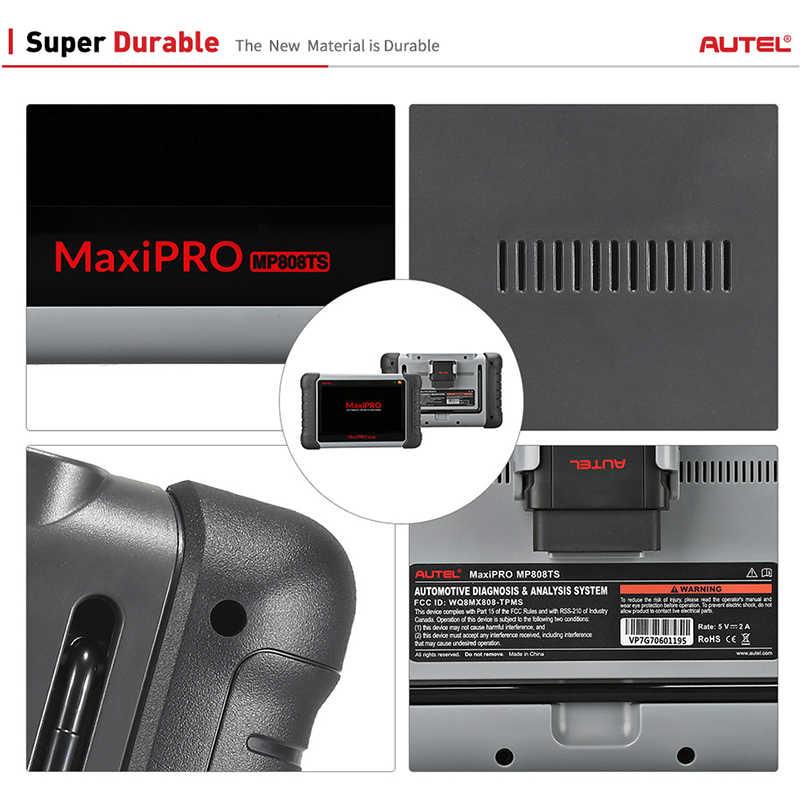 Autel maxipro MP808TS obdii 車の自動車診断ツール OBD2 スキャナ obd 2 コードリーダー tpms 機能 pk AP200 MK808 MK808TS