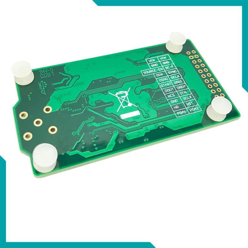 Module d'acquisition de données de Vibration ADS127L01/512 Ksps/24Bit ADC IEPE/ICP