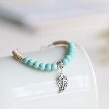 Bracelet beads Traditional Boondoggle Hand Woven