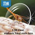 Clear 1.56 Index Lensesaspheric hard resin lens Hard & Multi-coatedEMI DefendingCoating optical prescription lenses for eyewear