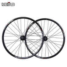 "26"" inch 32 Holes MTB Mountain Bikes Road Bicycles Disc Brake  Wheel Hubs Rim knife circle Wheelset Parts"