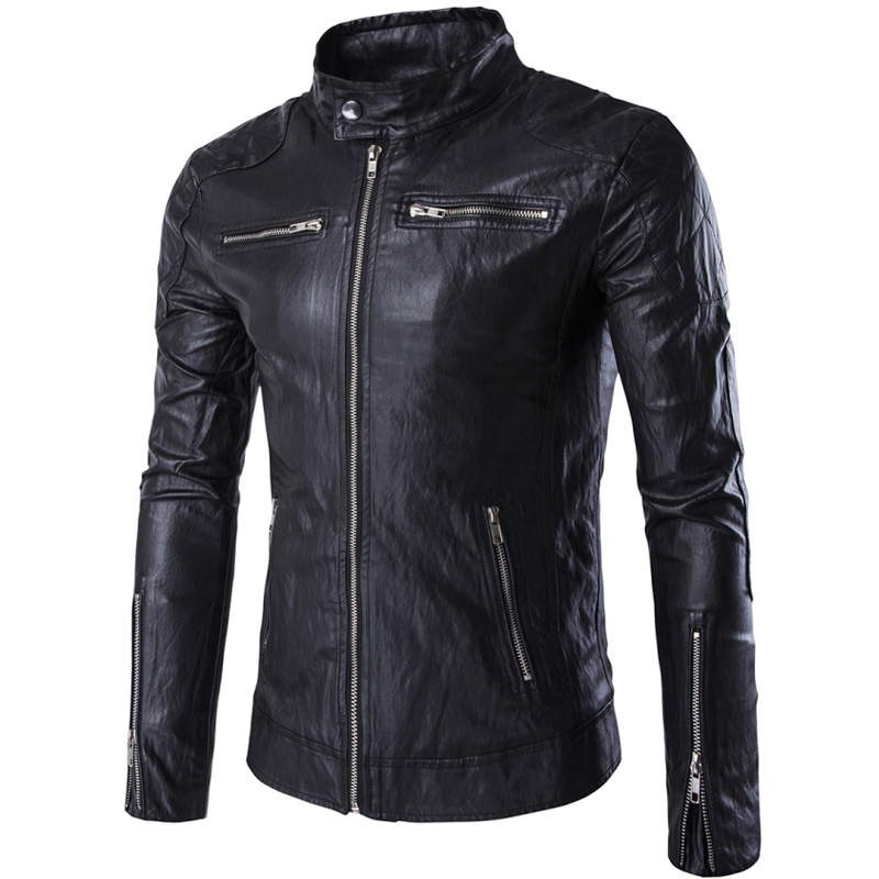 Aliexpress Mens Leather Coat New Design