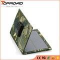 Célula Del Panel Solar plegable Plegable USB Móvil Cargadores Banco de la Energía de Batería Externa Del Cargador Solar Portátil para teléfonos móviles mp3 GPS