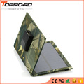 Célula Painel Solar dobrável Dobrável Energia Solar Bateria Externa Carregador Portátil Banco de Potência USB Móvel Carregadores para telefones Celulares mp3 GPS