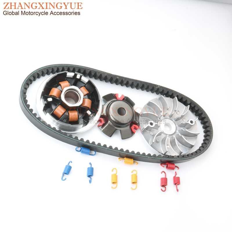 Ensemble de variateur de course de ceinture 842 pour GY6 125cc 150cc 152QMI 157QMJ Scooter chinois cyclomoteur distribution de Kart 1 K 1.5 K 2 K