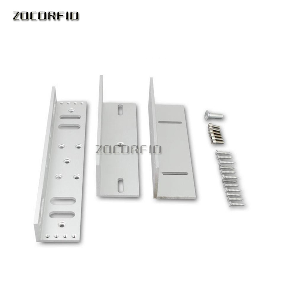 Фотография aluminium alloy zl bracket  280kg magnetic lock with high quality zl holder for magnetic locker