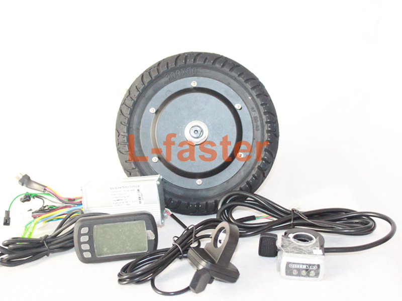 Buy 36v 350w 8 inch electric scooter for Scooter hub motor kit