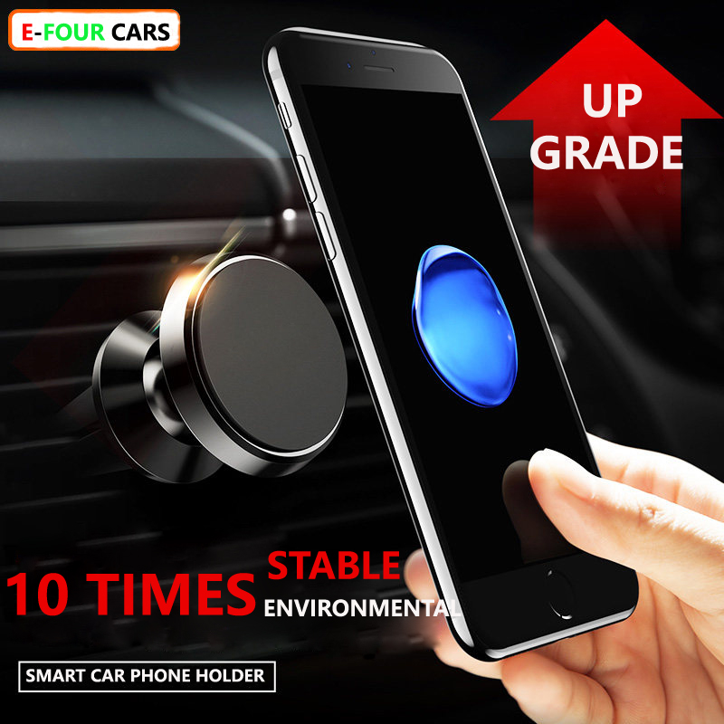 BIG PROMOTION ONLY 60 PIECES Magnetic Car Phone Holder Stand for GPS Phones Air Outlet Clip Universal Mobile Phone Holder in Universal Car Bracket from Automobiles Motorcycles