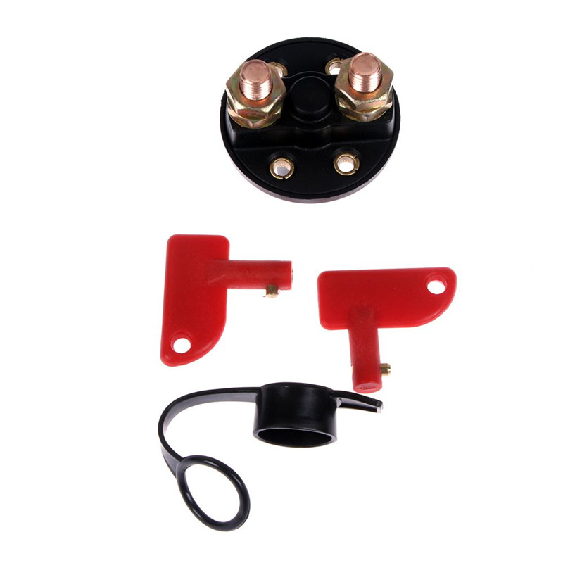 1PC New Racing <font><b>Battery</b></font> Kill Switch Cut-Off Power Disconnect 12/24 <font><b>Volt</b></font> Breaker Motorcycle Car Power Main Switch Knob image