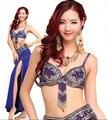 Пресс танец костюм S / M / L 3шт бюстгальтер и ремень и юбка сексуальный танцы женщины танец одежда комплект bellydance индийский 6 цветов