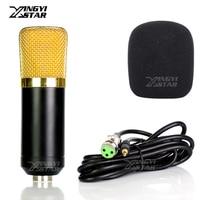 BM 700 800 Pro проводной Конденсатор Студийный микрофон для ПК видео записи микрофон MSN караоке ноутбук игры подкаст и 3,5 мм аудио линия