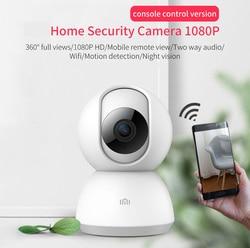 Xiaomi camera mijia smart ip 1080P camera HD 360 degree shimmer full color night vision H.265 AI Smart wifi Camera Motion Detect