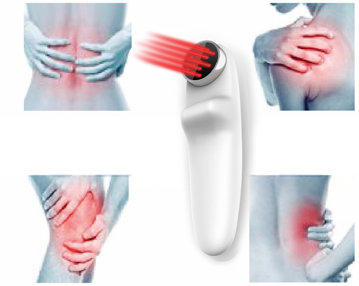 LLLT Home Use Portable Body pain Reduce Low level Cold Laser therapy Photo light therapy device