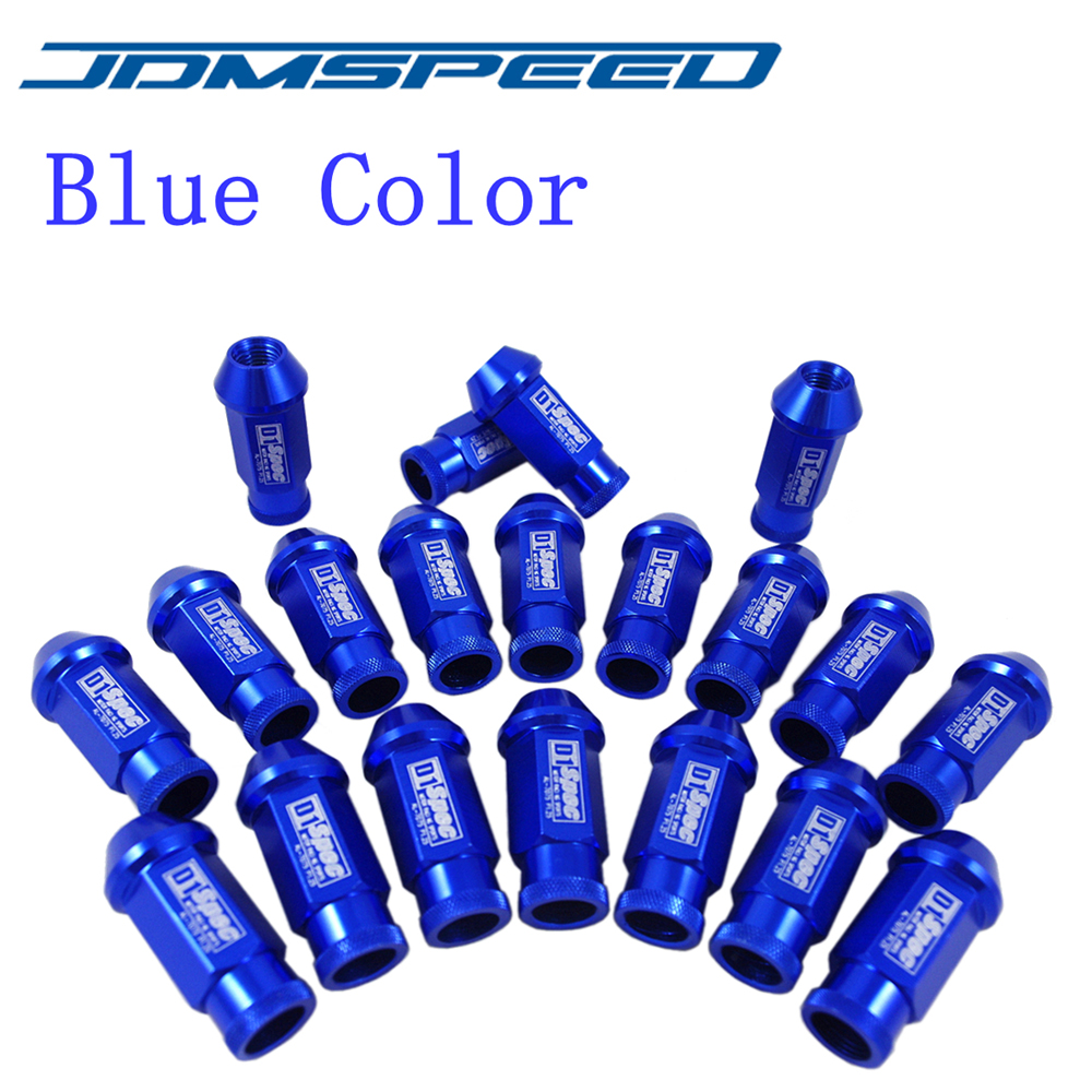 Xpower- UNIVERSAL JDM RACING D1 SPEC WHEEL LUG NUTS M12X1.25MM FORNissan Subaru infiniti 20PCS xpower 20pcs d1 spec jdm racing wheel lug nuts screw m12x1 5 for honda ford toyota ls4g