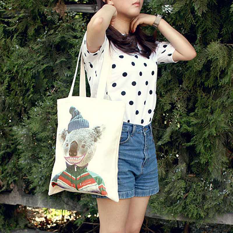 Cute Lovely Women Travel Totes Unique Portable Travel Shoulder Bags Multifunction Large Shopping Bags