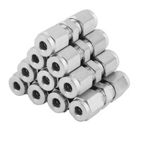Professional Stainless Steel Brake Socket Screw Set Car Automotive Repair Tool Connect 4.75 mm Or 3/16 Inch Brake Hose Silver