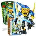 44 unids bela hero factory ataque cerebral aquagon modelo bloques de construcción de montaje robot regalo juguetes compatibles con lego