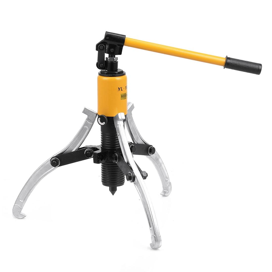 ФОТО Heavy Duty 15T Hydraulic Bearing Gear Puller Set Separator Hub Tool Kit 3 Jaws