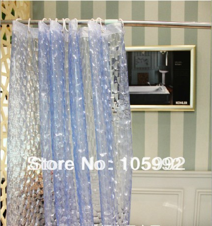Aliexpress.com : Buy Free Shipping Shower Curtain 3D Watercubic Waterfall  Waterproof Mouldproof Extra Strong Thick 180cm X 180cm Including Hooks From  ...
